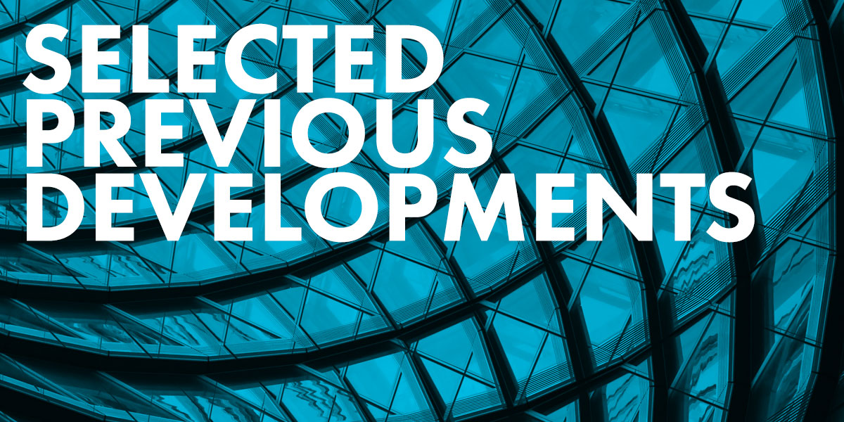 Selected Previous Developments in central London
